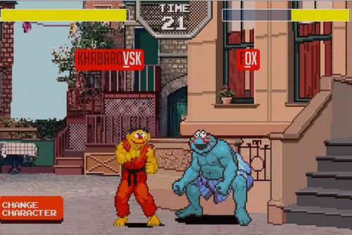 SESAME STREET FIGHTER: NEW SPELLING GAME KICKS ASS… LITERALLY