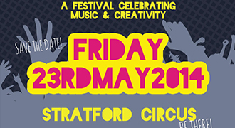IAMDV8 FESTIVAL RETURNS TO STRATFORD CIRCUS, 23RD MAY