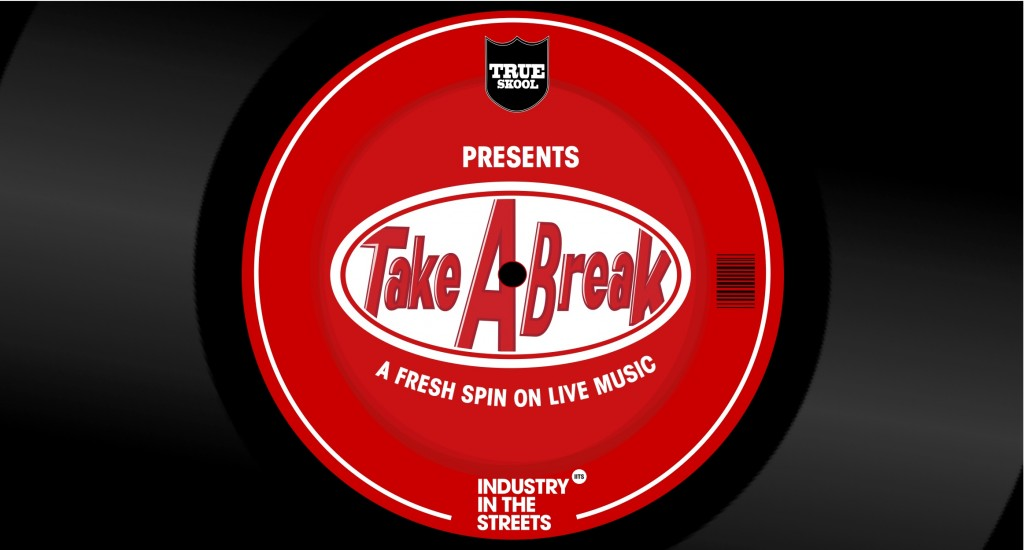 take a break vinyl logo