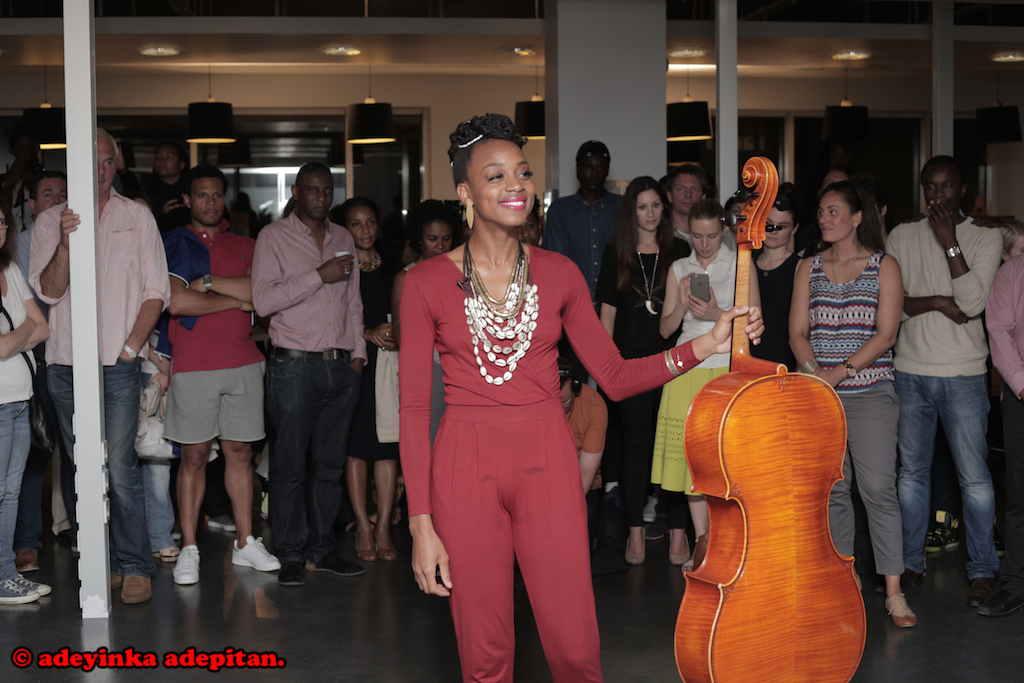 AYANNA SHARES HER MUSICAL MASTERPIECE AT THE #IITSPIRATION GALLERY